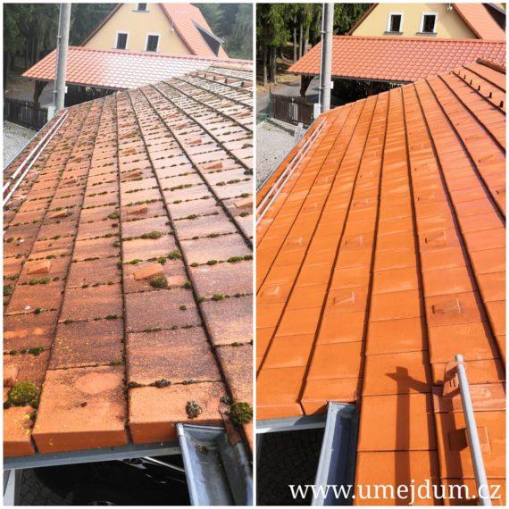 čištění střech