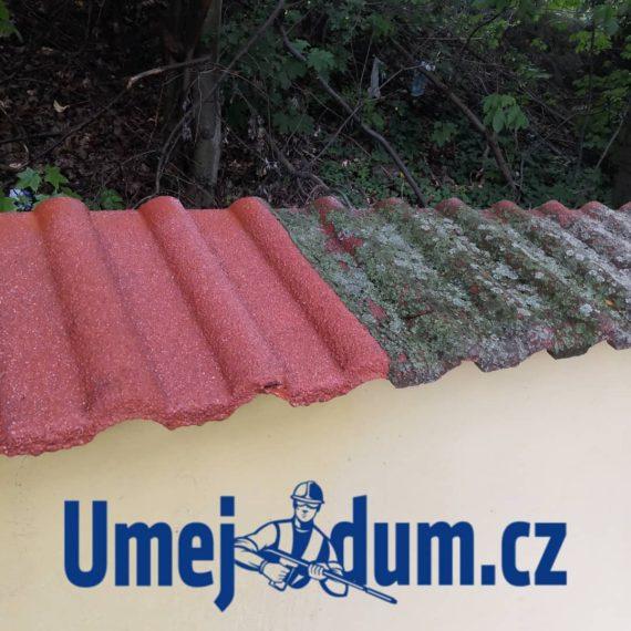 tlakové mytí střech