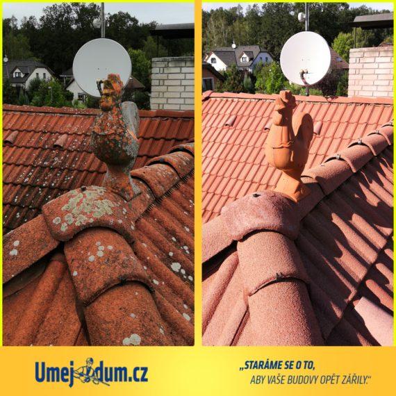 Vysokotlaké čištění střechy
